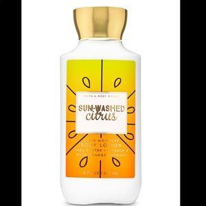 Bath & body works sun washed citrus body lotion